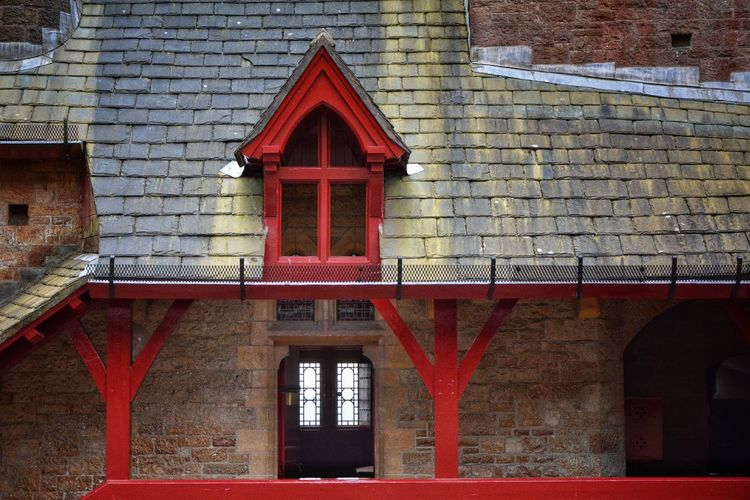 Coch Castle Architecture Building Exterior Built Structure Coch Castle Day No People Outdoors Red