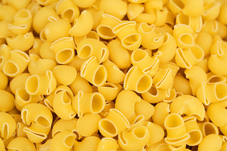 Full frame shot of yellow eggs