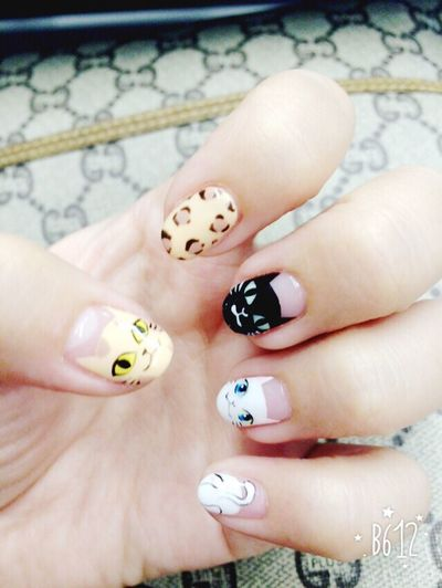 猫 Cats Cat♡ Cat Lovers Nails Nail Art にゃー ネコ祭り
