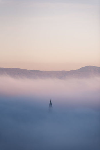 Early Winter Morning Mood. Fog Scenics - Nature Beauty In Nature Nebel Nebelmeer Nebelmorgen Early Morning Sunrise Germany Deutschland Hills Hügel Romantic Romantisch Freiburg Im Breisgau Beautiful Color Warm Cold Capture Tomorrow