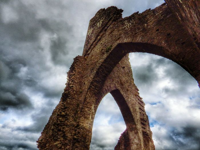 Wales Taking Photos Photography Check This Out Random Ruins Architectural Detail Storm Clouds Oldbuilding Historical Building
