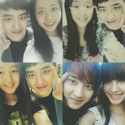 | 140524 | EXO from Exoplanet 1 - The Lost Planet in Seoul . Fans all around the world. But only four of the girls (maybe?) who were very lucky to have a selca with our kyungieㅠ I want it too. Why are they so damn lucky? . rightful owner || Kyungsoo Dokyungsoo 都暻秀 嘟嘟 도경수 디오 exok exo exom exotic 엑소 xenpais EXOsmine smpackofwolves exodaebakkk kyungsooish ||