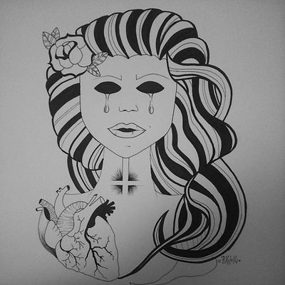 +HOLYHELL+ Artbypixii Pixiiart Drawing Drawingtime lovetodoit zeichnen malen holyshit holyhell damn bypixii artist inksketch tattoosketch