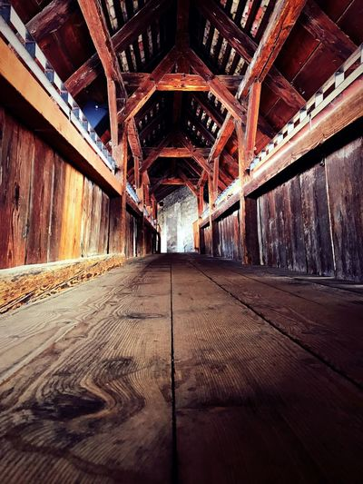 Wood - Material Built Structure No People Architecture Indoors  Day Abandoned Chateau De Chillon Switzerland Montreux Wood Beauty In Nature Sendyou-myphotos