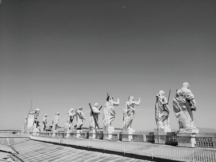 Statues Against Sky