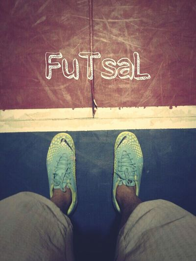 Sports Legs My Shoes Nike, Just Do It Futsal