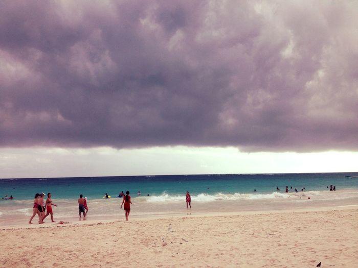 Tulum , Rivera Maya. Landscape Mexico Beach