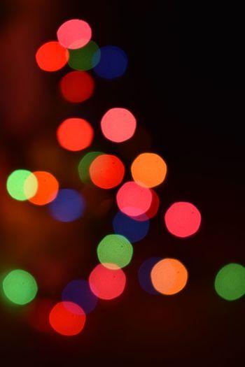 Enjoying Christmas time 🎄 Colorphotography NikonD3400 Christmastime Christmas Lights Love Bokehlicious Bokeh Photography Bokeh Lights OutOfFocusPerfection Nikon Illuminated Defocused Night Multi Colored Light Effect Lighting Equipment No People
