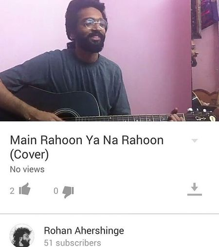 Hindisongcover Hindisongs Guitarcovers Musicmakesmehappy Happinessismusic Bliss https://youtu.be/oLrfOAW4eIk