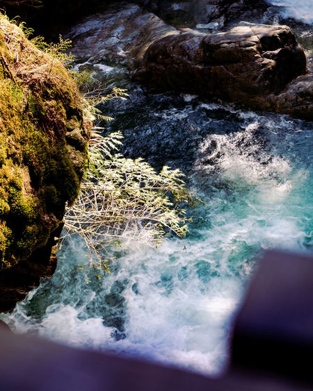Rock Solid Water Rock - Object Beauty In Nature Motion No People Nature Sea Day Aquatic Sport Scenics - Nature Land Sport Outdoors Rock Formation High Angle View Flowing Water Power In Nature Flowing