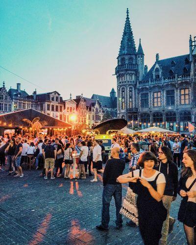 Event in Ghent! Ghent Belgium City Foodtruck Festival Summer