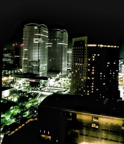 Makuhari Tokyo Japan City Chiba Night Lightatnight Travel ASIA World