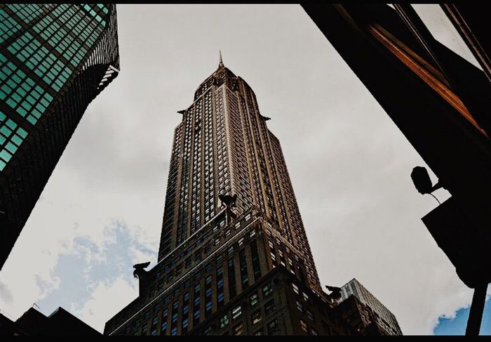 Architecture Low Angle View Built Structure Building Exterior Outdoors Skyscraper Travel Destinations New York Oldpicture