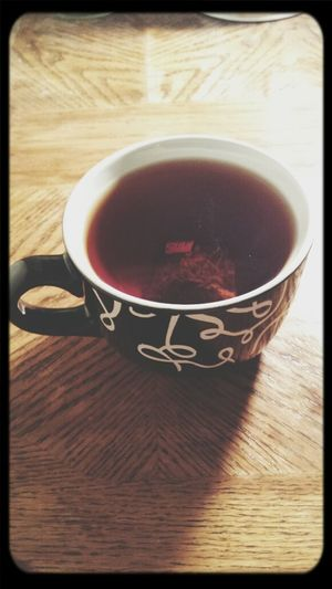 Tea so black--IT IS THE NIGHT. Gotham Is Safe Tazo Black And Bag In Hipster Passtime