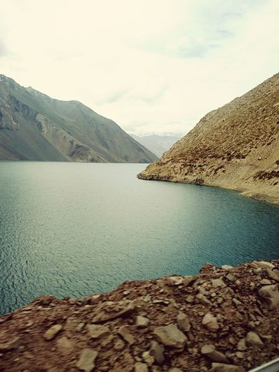 Relax❤️ Cajon Del Maipo Rural Scene Cold Temperature Fotografia Montañas❤ Natural Paisaje Nubes Mountain Viaje Nature Relaxation Beautiful Viaje A Santiago Embalse El Yeso ❤. The Great Outdoors - 2017 EyeEm Awards