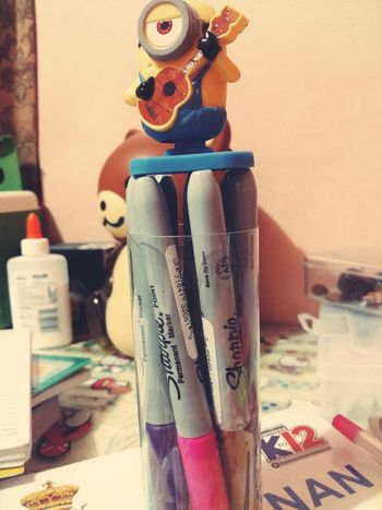 Minion Love Sharpies