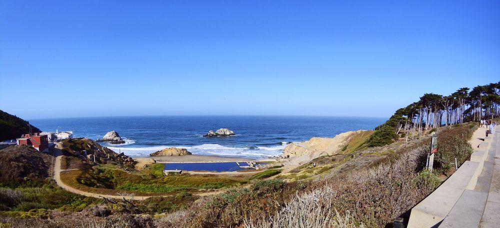 San Francisco Sutro Bath Ruins  Point Lobos
