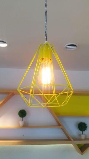 Design Design Lamp Bulb Light Light Bulb Designer  Yellow Decoration Ilumination Interior Design Interior Decorating No People