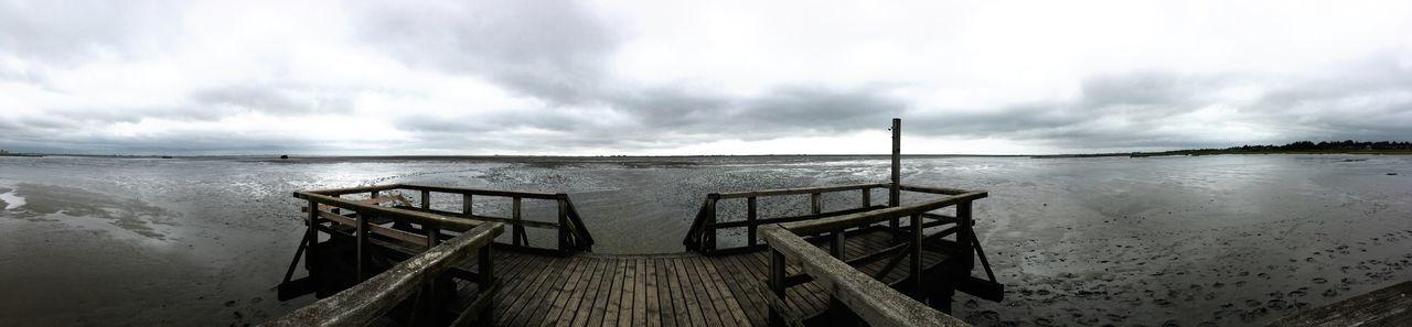 Steg, Nordsee