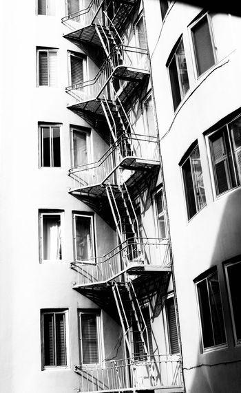 Building Exterior Built Structure Architecture Building Window Residential District Fire Escape