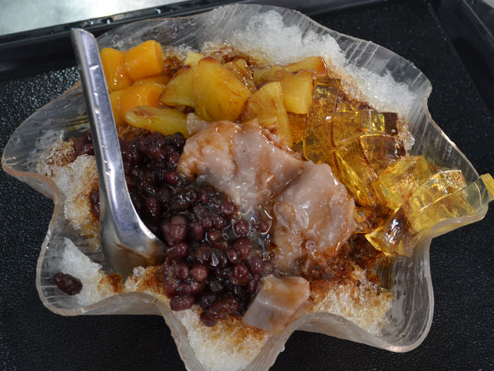 Bao Bing Baobing Close-up Day Food Food And Drink Freshness Indoors  Meat No People Ready-to-eat Shaved Ice Shaved Ice Cream Taiwanese Dessert Taiwanese Food 刨冰 Taiwan Food Taiwan