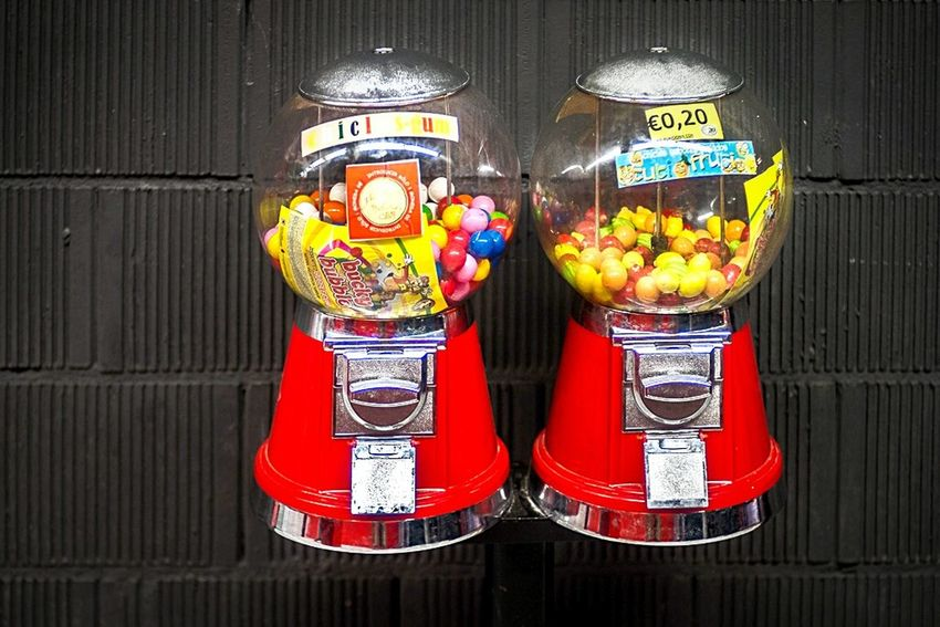 Open Edit Color Candy Dispenser Hard Choice