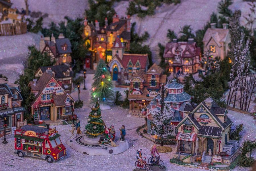 Mi navidad miniatura Mininavidad Blancanavidad Navidad Nieve Christmas Tree Christmas Decoration Christmas Tree Celebration No People Night first eyeem photo
