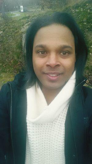 Sri Lankaboy in Winterwinterland Selfie That's Me