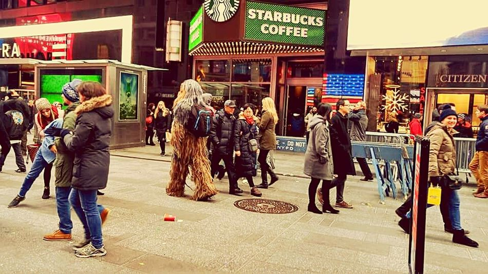 Streetphotography The Street Photographer - 2016 EyeEm Awards The Street Photographer -2016 EyeEm Awards The Street Photographer Street Photography New York City New York Starwars Star Wars Love Costumes Taking A Walk Starbucks Starbucks ❤ Starbucks Coffee Starbuck Starbucks <3 Starbucks! My Commute People Watching People Photography Peoplephotography People Of EyeEm People The Following Market Bestsellers 2016