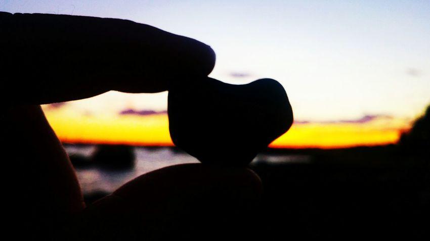Sunset Neds Point Mattapoisett Hearts In Nature Heart Rock Cafe