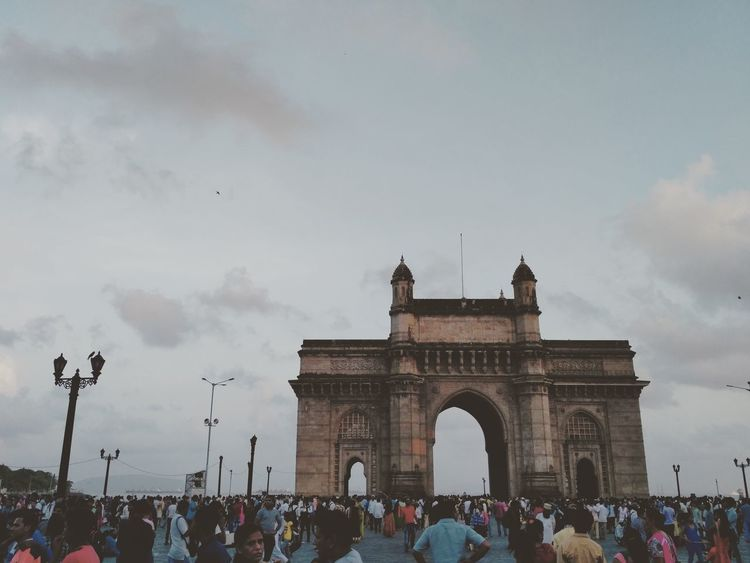 Mumbai Gatewayofindia Colabastreet Travel Destinations Architecture Vacations