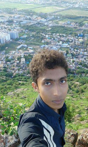 Self Portrait Around The World SATHUVACHARI HILLS 🌎🌏🌍🌋Highest 5000 feet long Selfie By Melfie Tamilnadu Incredible India
