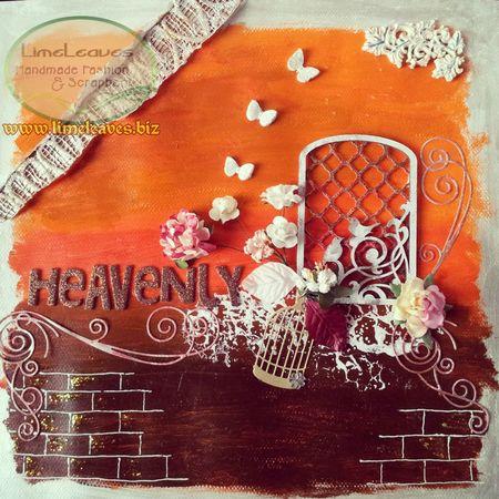 My mix media scrapbooking Scrapbook Idea Mix Media Art