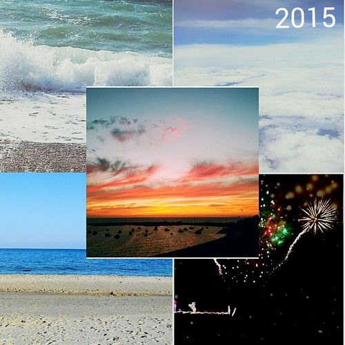 2015 memories 2015  NewYear Colours Happy New Year! Year In Pictures Sea Travle Photos
