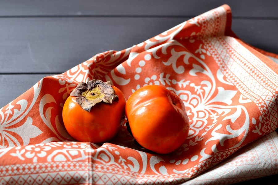 Persimmons Close-up Day Dietfood Food Food And Drink Foodphotography Freshness Healthy Eating No People Orange Color Persimmon Sweet Fruit Vegetarianfood Vibrant Color
