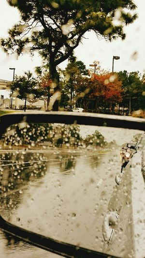 Rainy Days☔ Raindrops Rain Reflection From My Point Of View