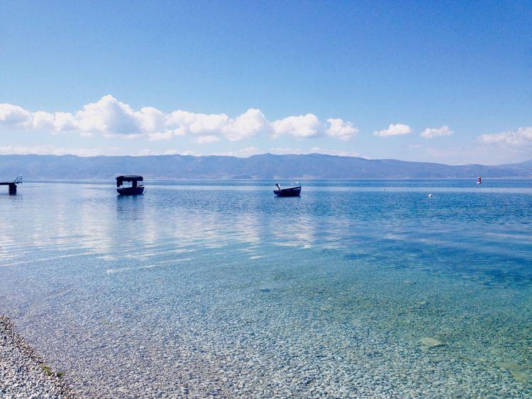 Earth Boat Sea Ocean Water Lake Nature Ohrid Ohridlake Blue Landscape Landscape_Collection Nature Photography
