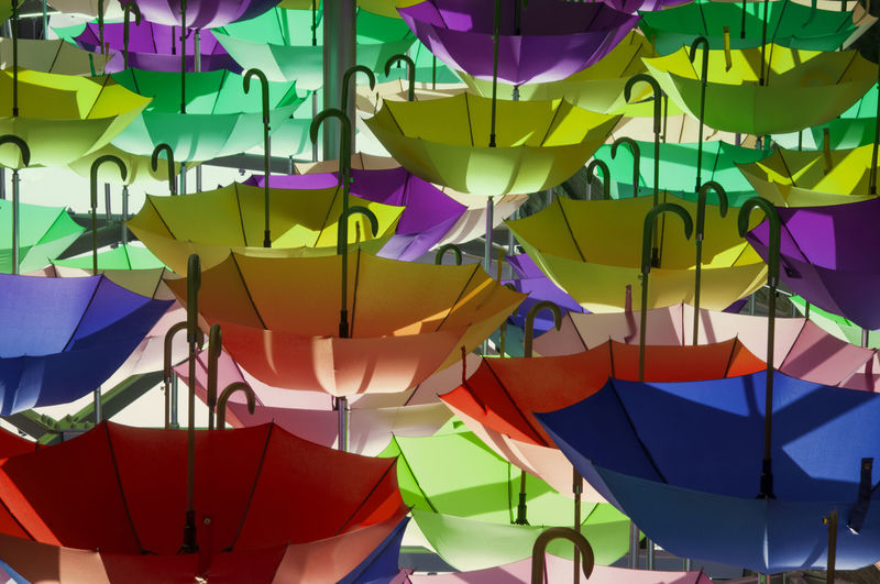 Colourful Colours Composition London Art And Craft Bourough Creativity Full Frame Hanging Londonlife Multi Colored No People Still Life Umbrella