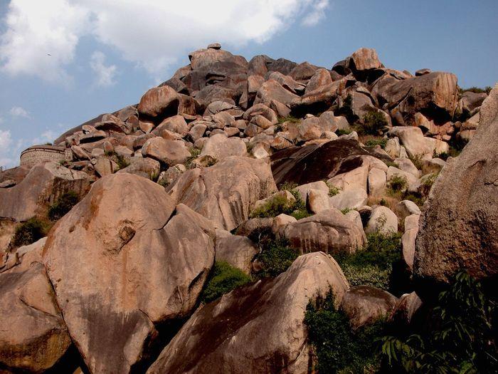 The EyeEm Facebook Cover Challenge Vanishing Point Chitradurga Fort, Karnataka State, India. Chitradurga Travel Photography Historical Monuments