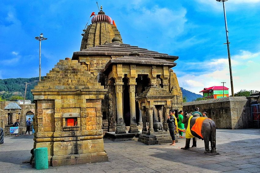 Temple Baijnath @Kangra valley, Himachal pradesh, India Architecture History Travel Destinations Built Structure Ancient Sky Religion Travel Building Exterior Ancient Civilization Outdoors Elephant Royalty People Himachal Pradesh, India India Tradition Indian City Indian Temple Of India