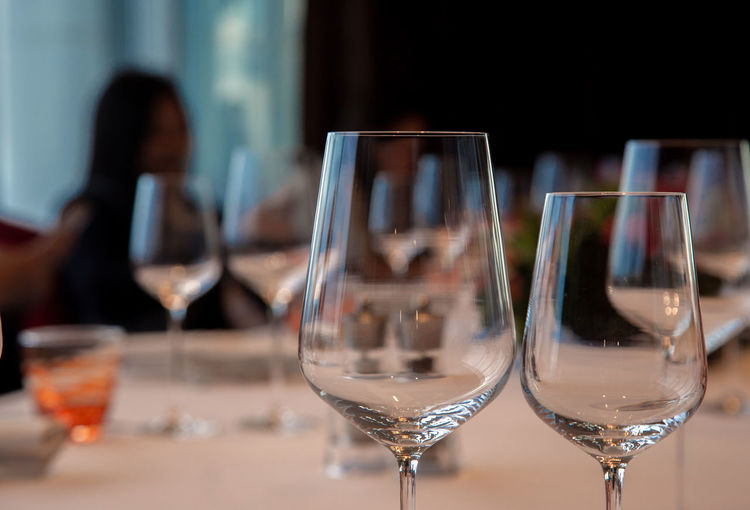 wine glass and