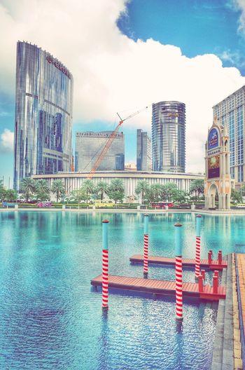 Pastel Power Streetshooting Macau Blue Sky