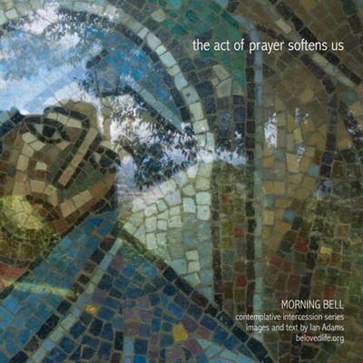 No17 in series 'in our prayers (contemplative intercession)' Shrine Cortona Contemplation Prayer Stillness Severini Mosaic Soft Softness
