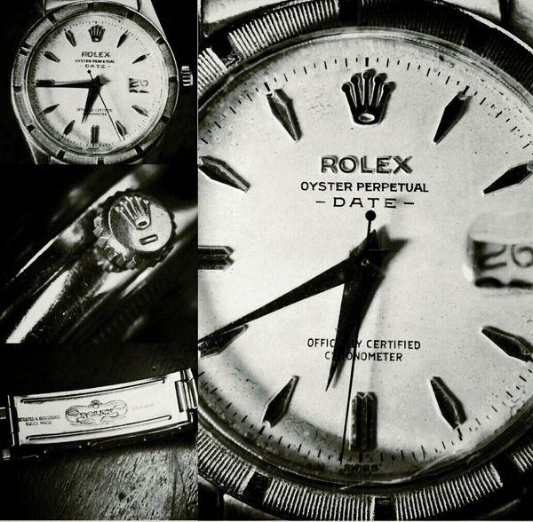 Aged by Time | Vintage Rolex Oyster Perpetual Datejust circa 1960 EyeEmbestshots Watches Vintage Blackandwhite