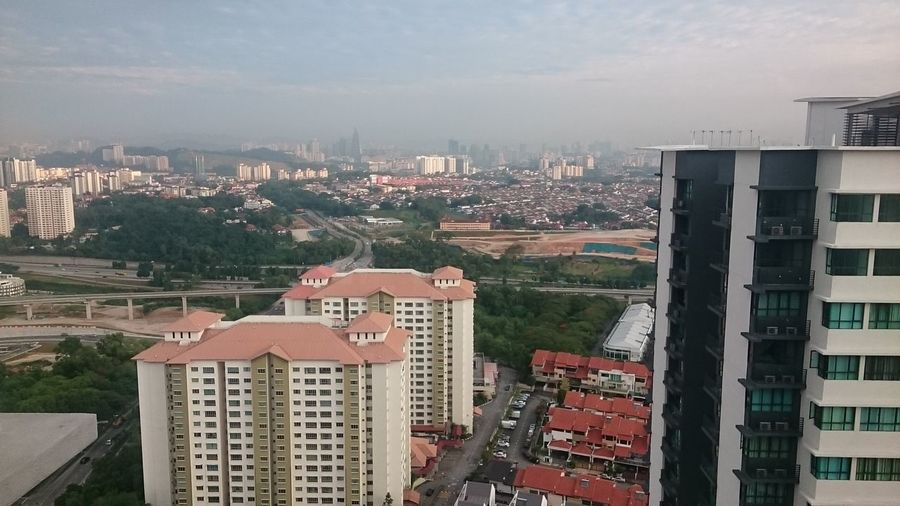 Kuala Lumpur view from KM1 Condo Check This Out Bukit Jalil