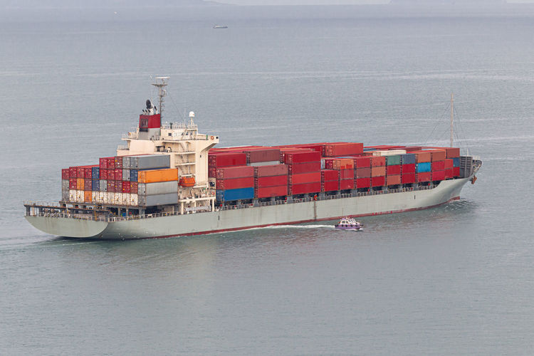 Nautical Vessel Transportation Water Sea Mode Of Transportation Freight Transportation Business Ship Container Waterfront Shipping  Cargo Container Industry Sailing Nature No People Container Ship Day Outdoors