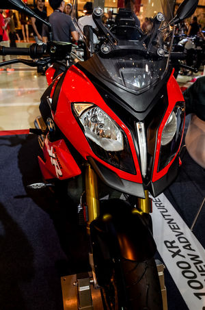 Nice motorcycle, BMW S1000 XR 1000cc Bigbike Bmw BMW S1000 XR City Life Close-up Cultures Enduro Headlight Land Vehicle Lifestyles Luxury Mode Of Transport Motorbike Motorcycle Motorcycle Parking Part Of Transportation