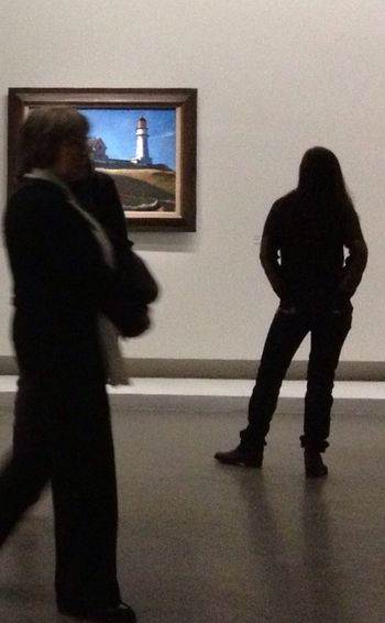 Art Hopper Grand-Palais Painting