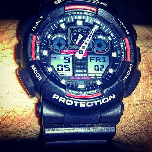My new toy Sportwatch Casio Gshock MustHave Watchenthusiast