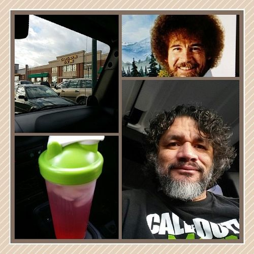 Time to go hard in the mafuckn paint Goodvibes Beardclique Metalmulisha WestCoast belizean longhairdontcare goldsgym